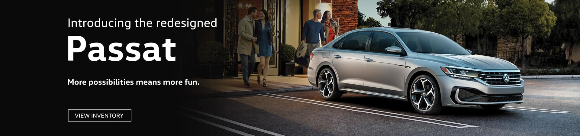 Come and see the All New Redesigned 2020 Passat at Timmons Volkswagen Long Beach