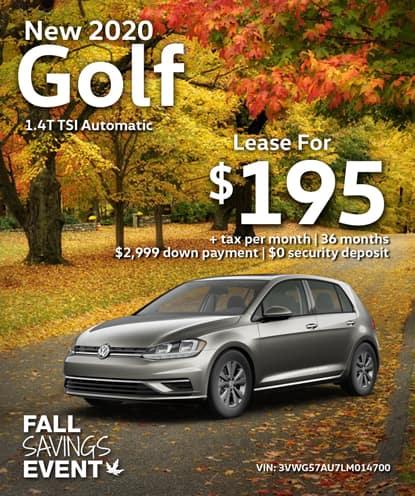 New 2020 Golf 1.4T TSI FWD Automatic