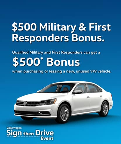 Volkswagen Military and First Responders Program