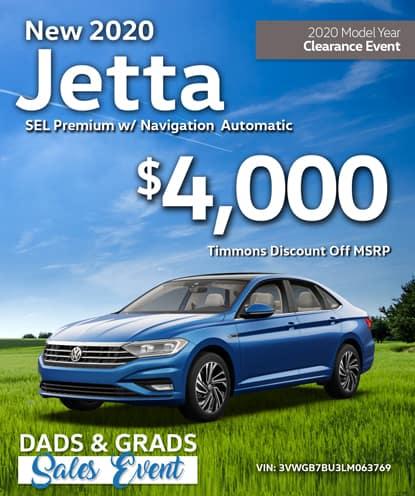 New 2020 Volkswagen Jetta SEL Premium w/ Navigation Automatic