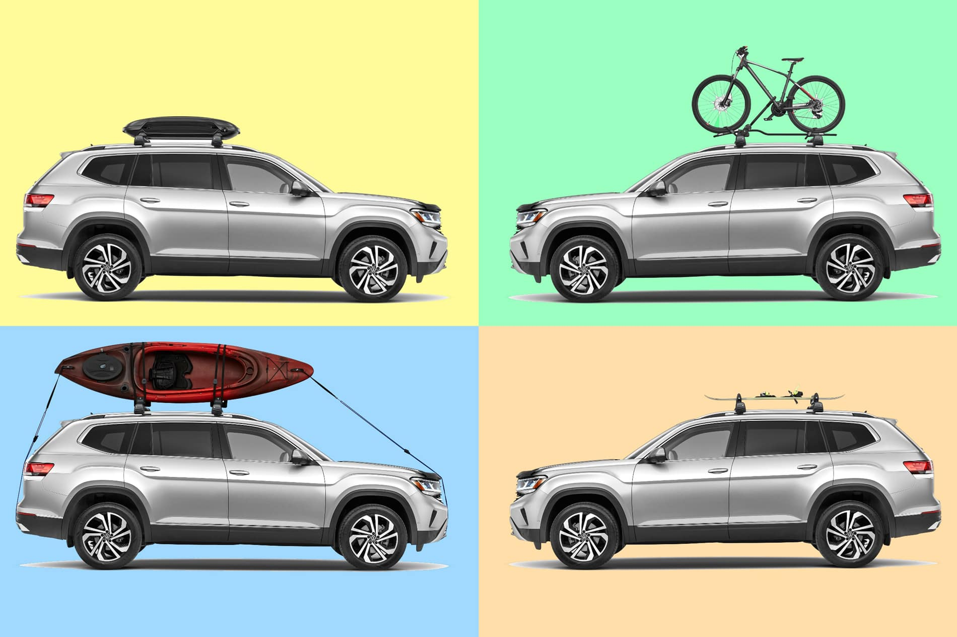 Timmons VW Long Beach has automotive accessories to make your road trip exceptional
