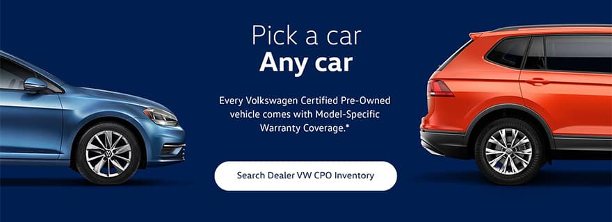 The best certified used cars at Timmons Volkswagen Long Beach