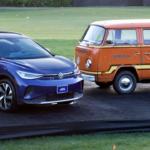 Volkswagen presents the ID.4 EV and 1979 Elektrotransporter at Amelia Island Concours d'Elegance