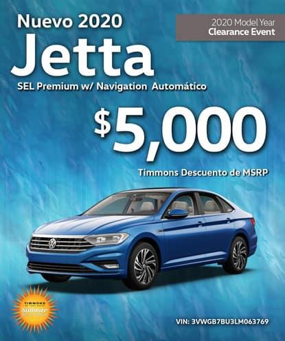 Nuevo 2020 Volkswagen Jetta SEL Premium con Navegación Automático