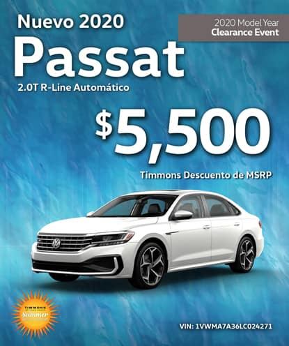 Nuevo 2020 Volkswagen Passat R-Line Automático