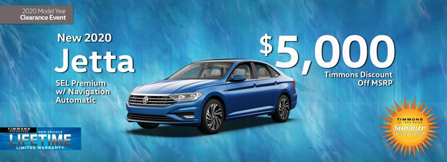 Huge Cash off MSRP from Timmons Long Beach on VW Jetta