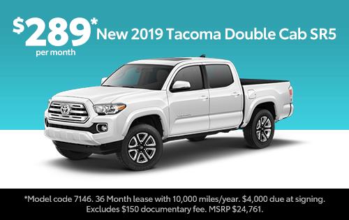 New 2019 Tacoma SR5 Double Cab