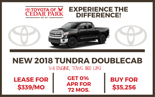 New 2018 Tundra 2WD SR5 Double Cab Special Edition