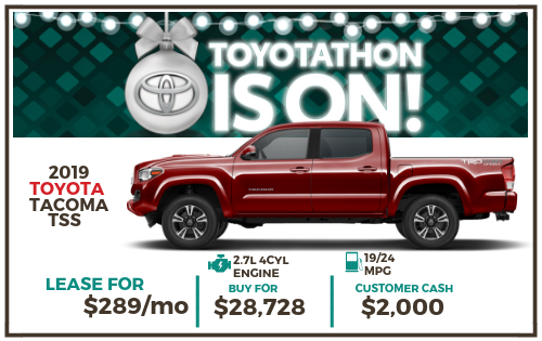 2019 Tacoma SR TSS Double Cab Special Edition