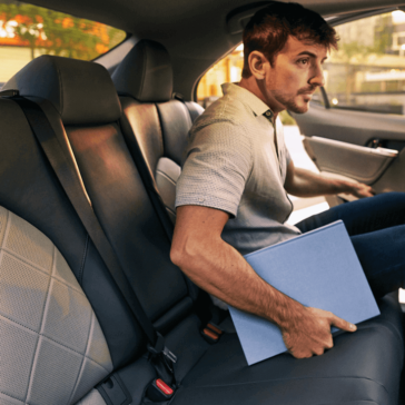Rear Seating in 2018 Toyota Camry