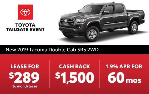 New 2019 Tacoma SR5