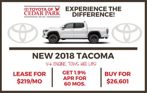 2018 Tacoma SR