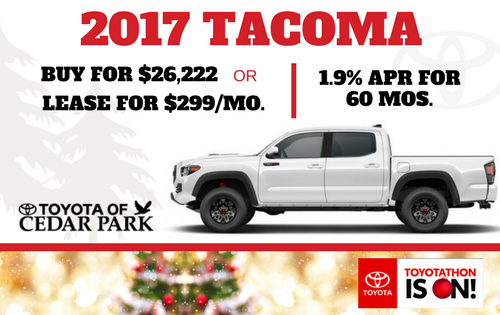 2017 Tacoma SR