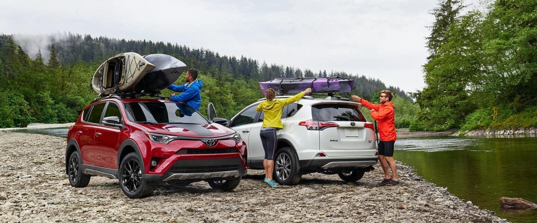 2018 Toyota Rav4's