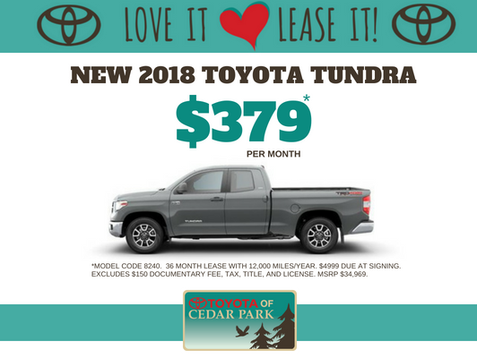 2018 Tundra 2WD SR5 Double Cab 6.5' Bed 4.6L