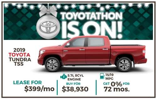 2019 Tundra 2WD SR5 CrewMax 5.5' Bed 4.6L Special Edition