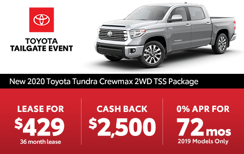New 2019 Tundra TSS Double Cab