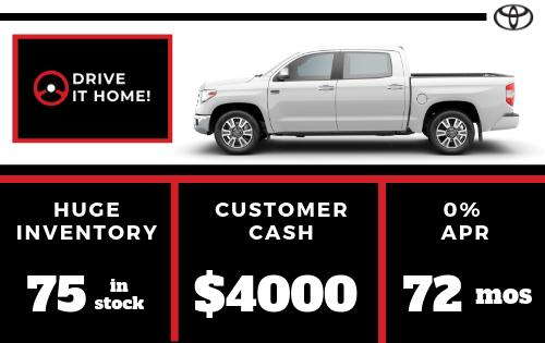 New 2019 Toyota Tundra 4WD SR5 CrewMax 5.5' Bed 5.7L