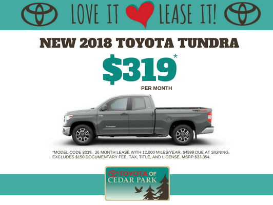 2018 Tundra 2WD SR Double Cab 6.5' Bed 4.6L