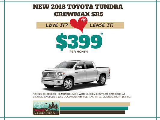 New 2018 Tundra CrewMax