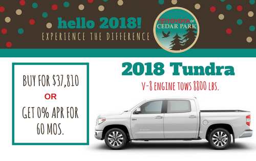 2018 Tundra 2WD SR5 CrewMax 5.5' Bed 4.6L Special Edition