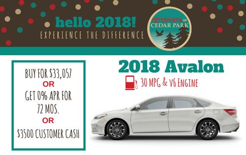 New 2018 Avalon XLE Premium