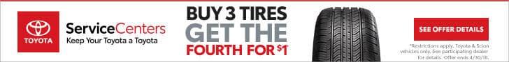Toyota Tire Sales
