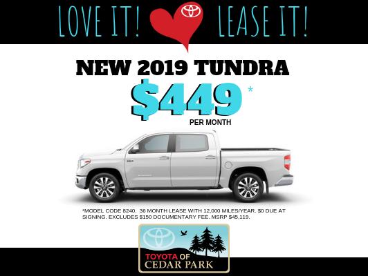 2019 Tundra CrewMax SR5 4x2