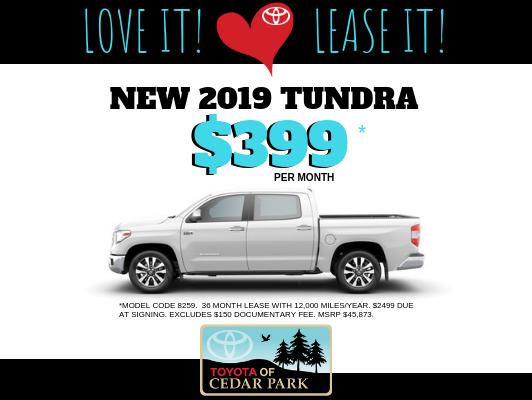 2019 Tundra CrewMax SR5 4x2 4.6L