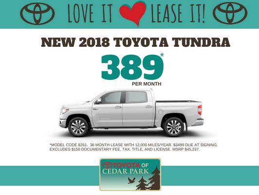 2018 Tundra CrewMax SR5 4x2