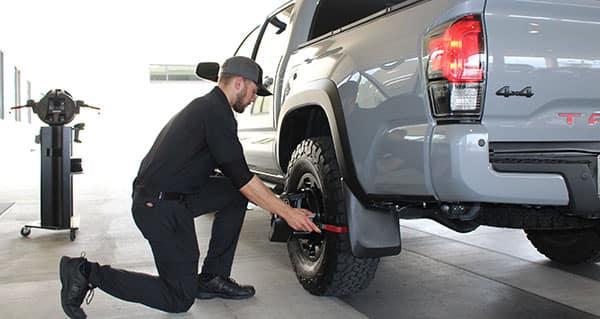 Free Alignment Checks at Toyota of Cedar Park