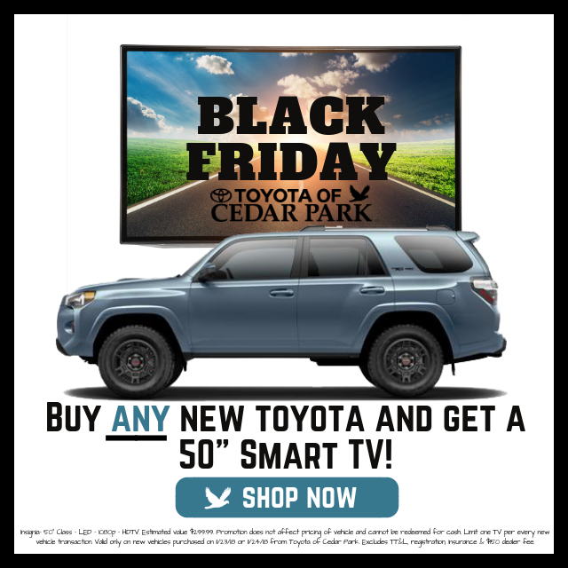 Black Friday Deals Near Austin Toyota Of Cedar Park