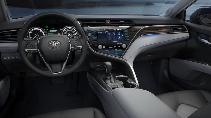 2019 Toyota Camry Interior near Austin TX