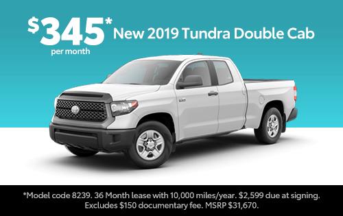 New 2019 Tundra TSS