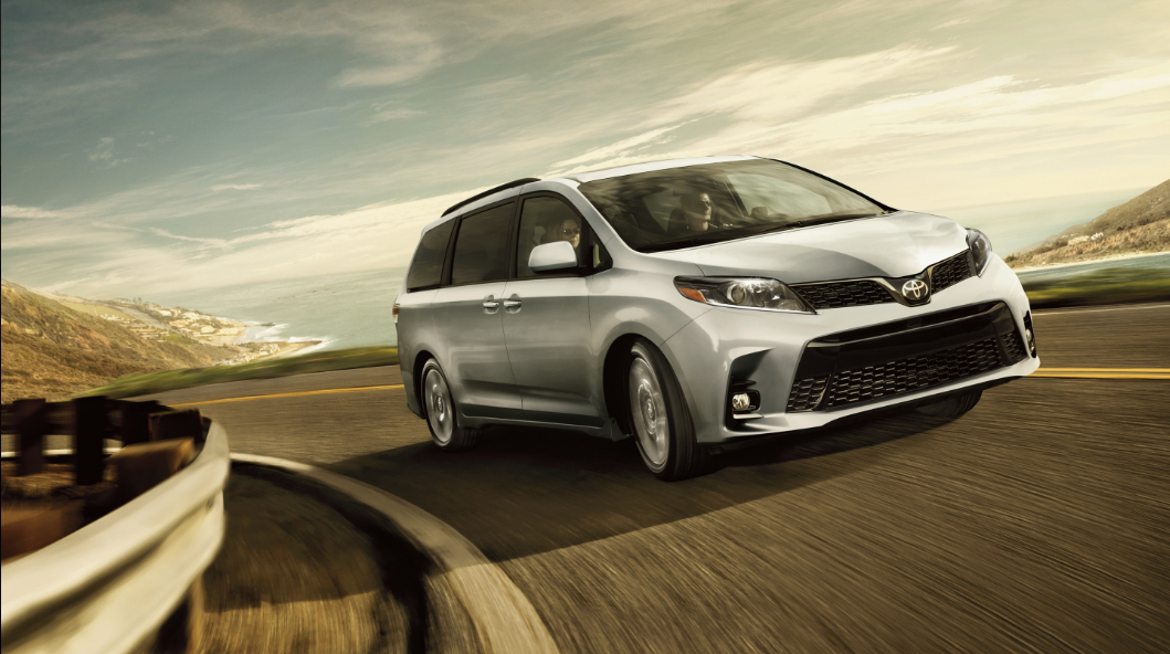 New 2020 Toyota Sienna in Silver
