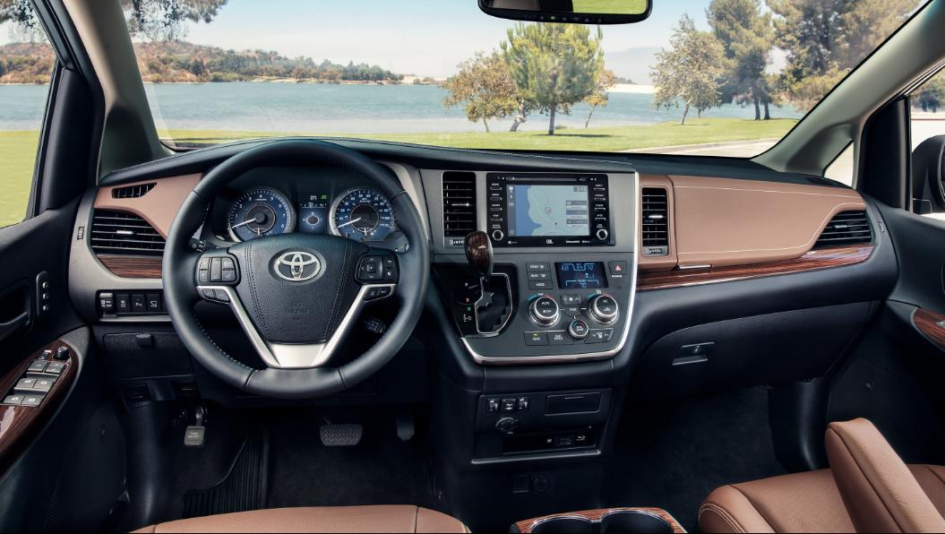 New 2020 Toyota Sienna interior