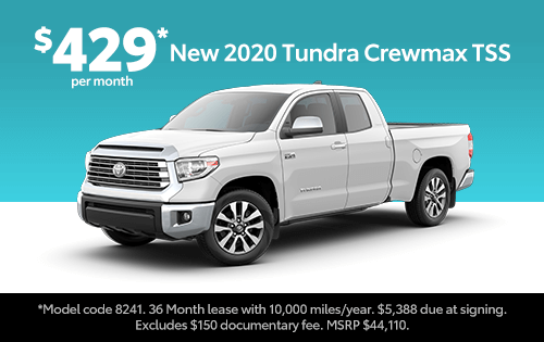New 2020 Toyota Tundra Crewmax 2WD TSS Package