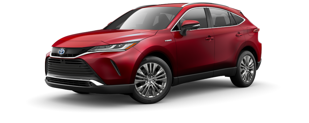 2021 Red Toyota Venza