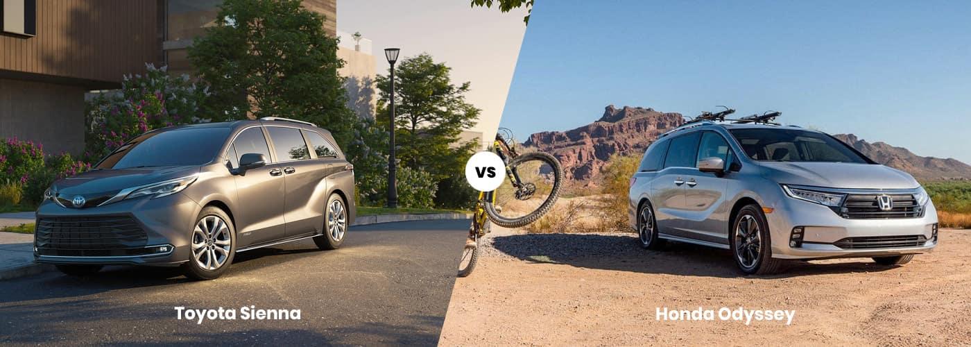 Toyota Sienna vs. Honda Odyssey