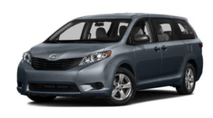 Toyota Sienna Rental Special