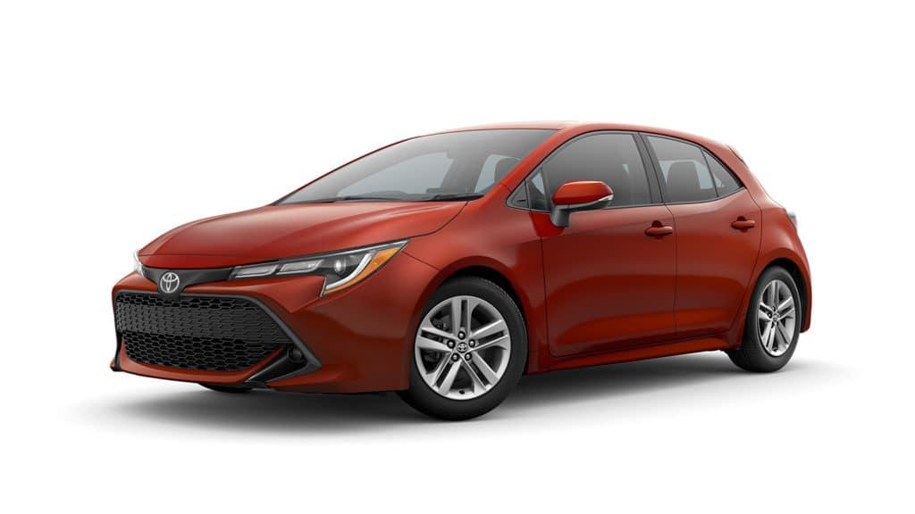 Toyota Corolla Hatchback Rental