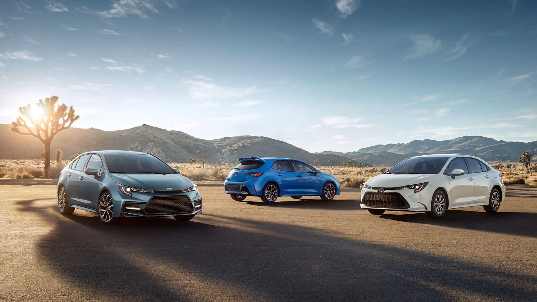 2021 Toyota Corolla Trim Levels Newnan