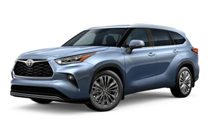 Toyota Highlander Rental Special