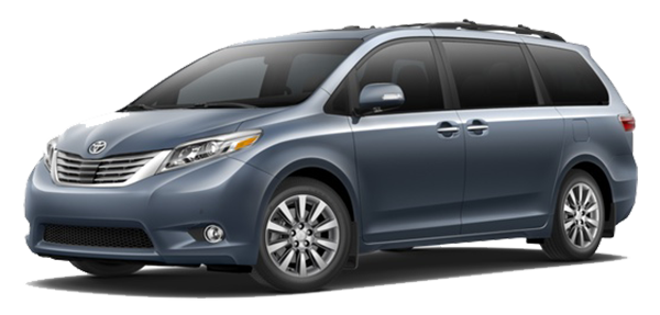 2017 Toyota Sienna Shoreline Blue Pearl Banner Image