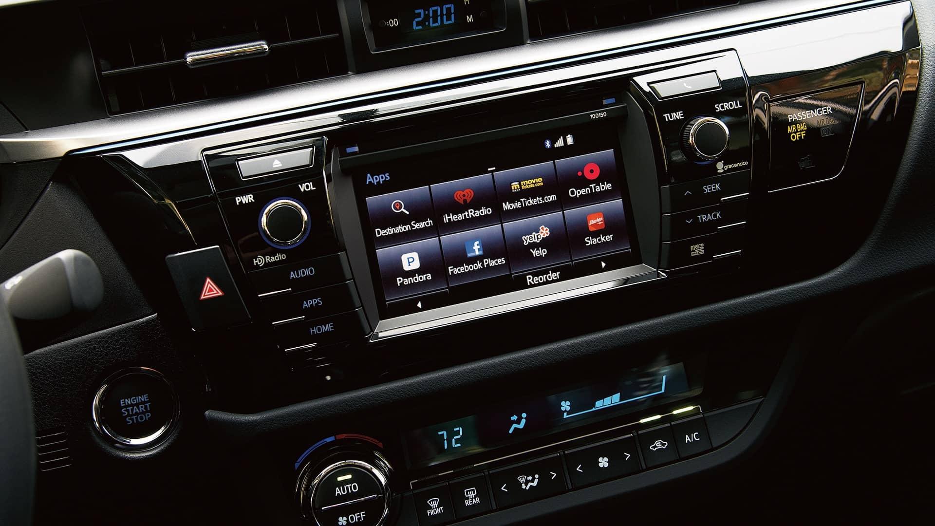 Toyota Corolla Technology