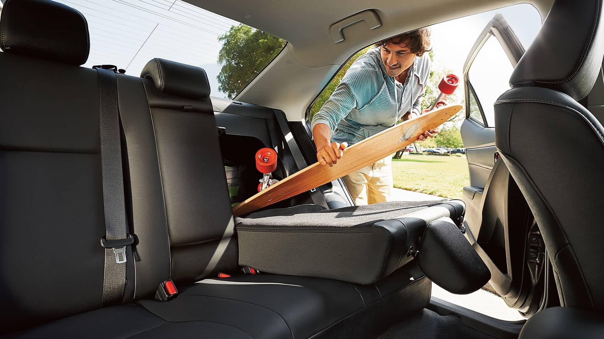 Toyota Corolla Interior Versatility