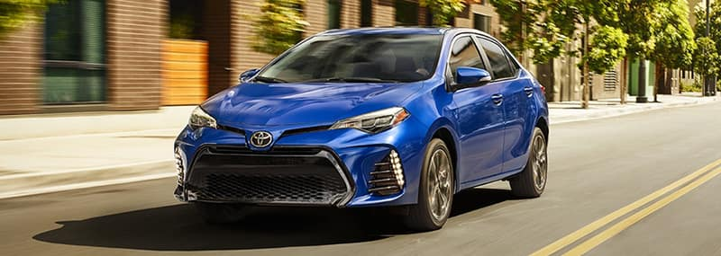 2018 Corolla Exterior Features