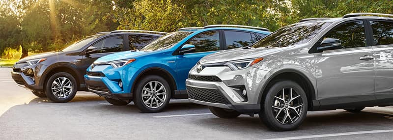 2018 RAV4 Exterior Features
