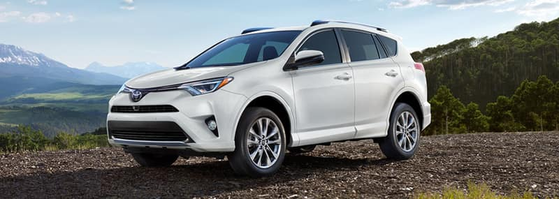 Exterior Features 2018 RAV4
