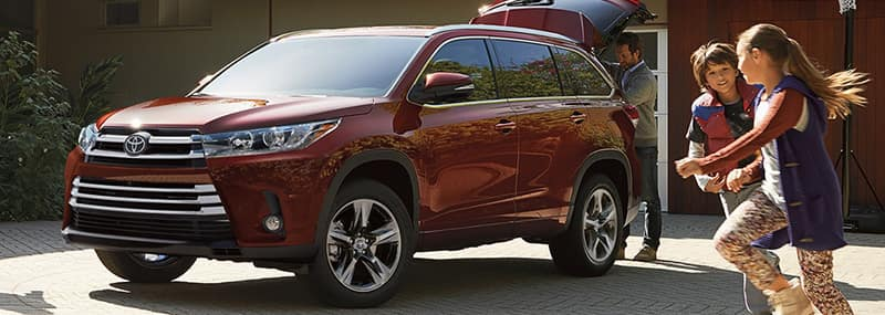 2018 Highlander Exterior Features